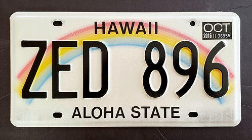HI Aloha State - Rainbow - ZED 896