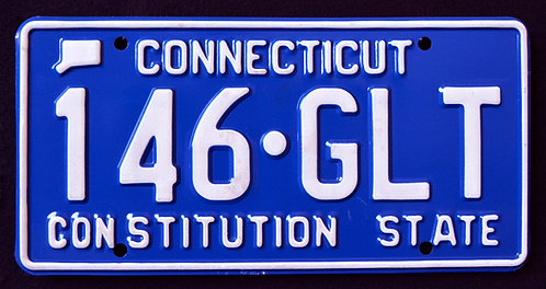 CT Constitution State - Blue - 146 GLT