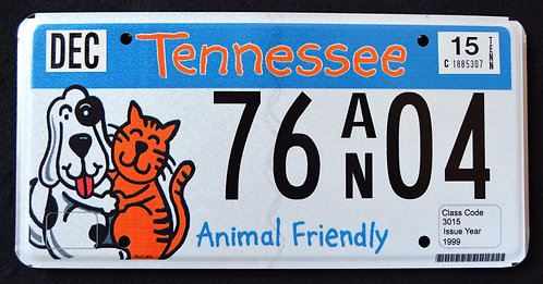 TN Animal Friendly - Cat - Dog - Pets - 76AN04