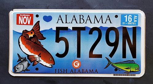 AL Fish Alabama - Saltwater -  Wildlife Mahi Mahi - 5T29N