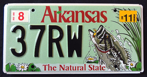 AR Wildlife Bass - Fish - The Natural State - 37RW
