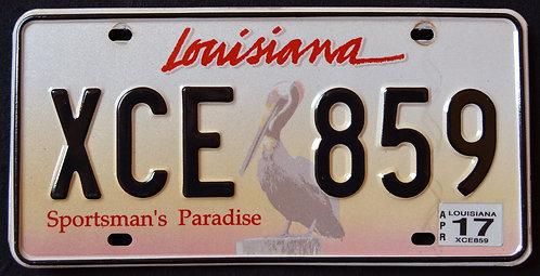 LA Sportsman`s Paradise - Wildlife Pelican Bird - XCE 859