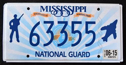 MS National Guard - Soldier - Fighter Jet