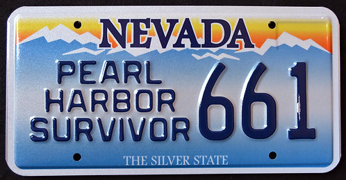 NV Pearl Harbor Survivor - 661