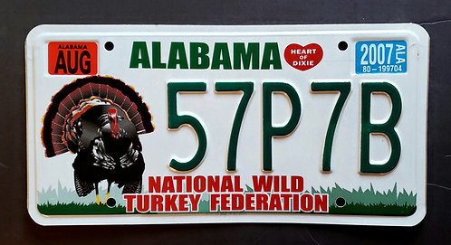 AL Wildlife Turkey Bird - 57P7B