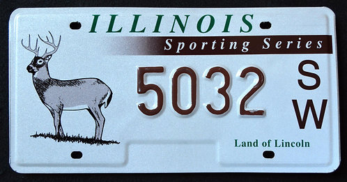 IL Wildlife Deer - Sporting Series - Land of Lincoln - 5032SW