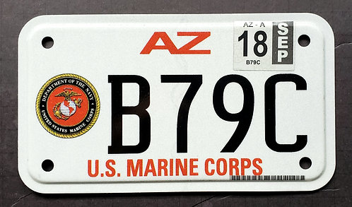 AZ U.S. Marine Corps Motorcycle MC