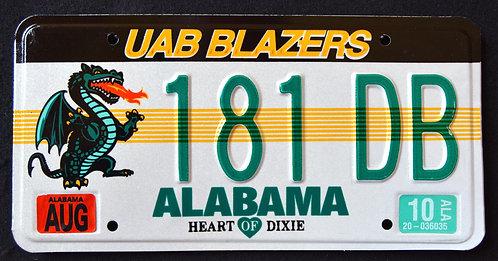 AL UAB Blazers - Dragon - Football - University Of Birmingham, AL-  181DB