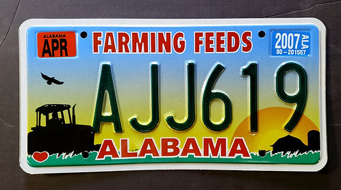 AL Farming Feeds - Agriculture - Tractor - Farm - Barn - AJJ619