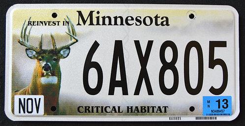 MN Critical Habitat - Wildlife Deer