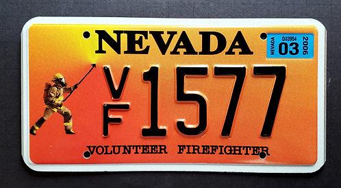 NV Volunteer Firefighter - VF1577
