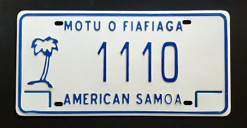 American Samoa - Palm Tree - Motu O Fiafiaga - 1110