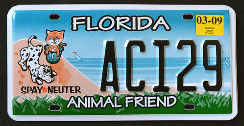 FL Animal Friend - Spay - Neuter - Pets - Cat - Dog - ACI29