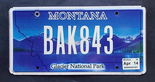 MT Montana Glacier National Park - BAK843
