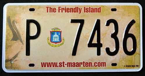 St. Maarten Island - Wildlife Pelican