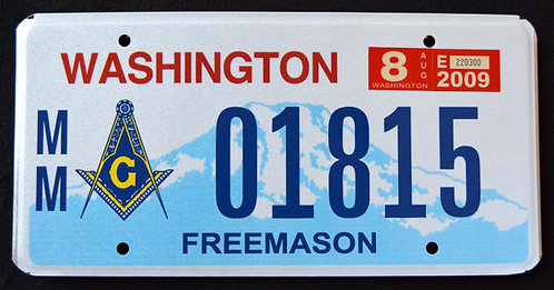 WA Washington -  Freemason - Masonic
