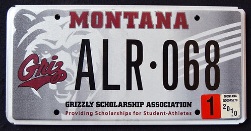 MT Griz - Montana Grlizzlies - Football