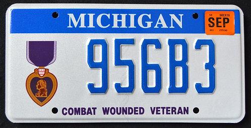 MI Purple Heart Veteran - Combat Wounded