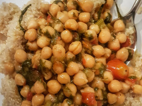 """Chickpeas Dish that will """"fix your brain"""""""