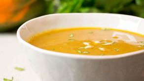 Butternut Squash & Lentil Curry Soup