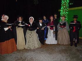 Festival Carolers at the Oregon Garden