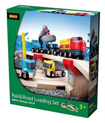 Laden en lossen - Brio trein 33210
