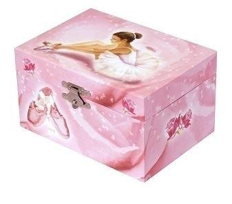 Boîte à musique ballerina rose - Trousselier