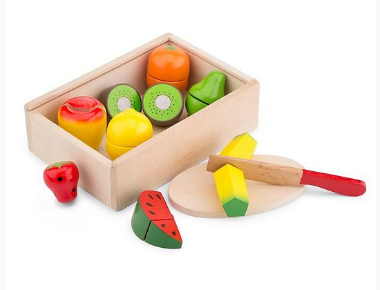 Fruit snijden - New classic toys