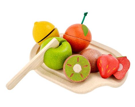 Houten fruitset van Plan Toys