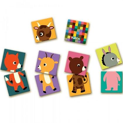 Memorie puzzel - Djeco