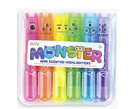 Monsters mini highlighters Ooly