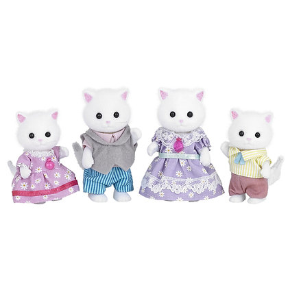 La famille chat persan - Sylvanian Families
