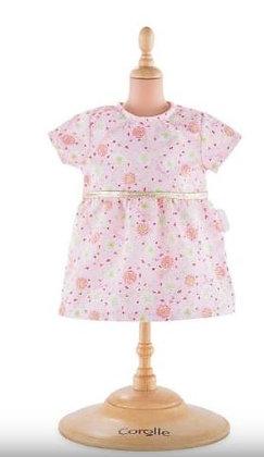 Robe rose corolle pour poupon 30 cm