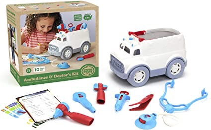 Ambulance en dokters kit - Green Toys