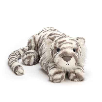 Sasha Snow Leopard van Jellycat