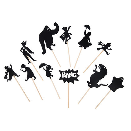 Schaduwspel superhelden - Moulin Roty