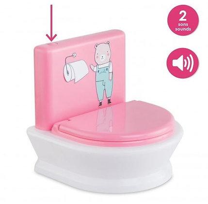 Toilettes interactives pour poupons 30 et 36 cm