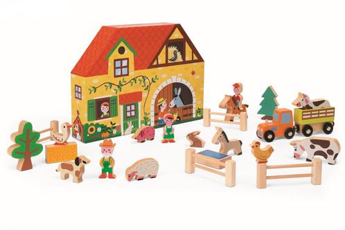 Mooie Houten Box.Story Box Boerderij