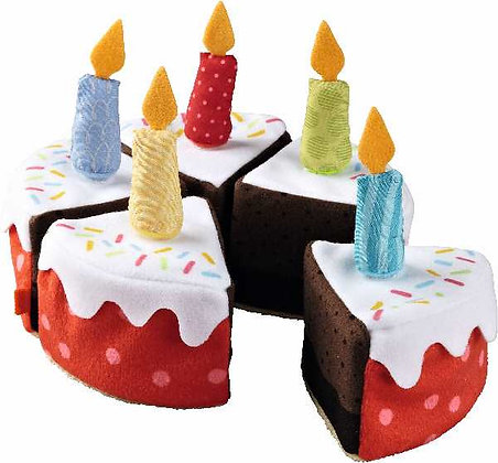 Gâteau d'anniversaire en tissu - Haba