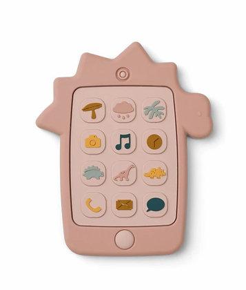 Telefoon roze dino - Liewood