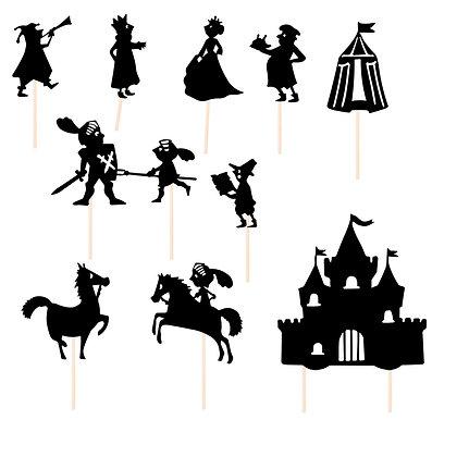 Schaduwspel Ridders - Moulin Roty