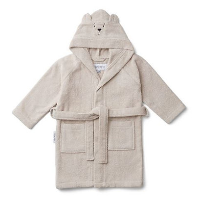 Liewood Lily Bathrobe - Polar bear*