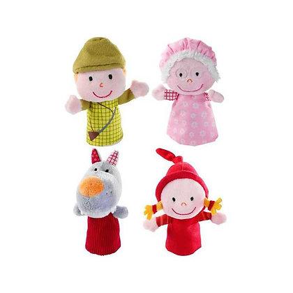 Marionnettes à doigt le petit chaperon rouge - Lilliputiens