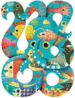 Puzzle poulpe 350 pièces - Djeco