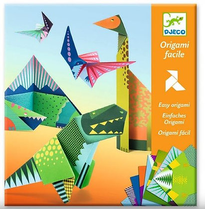 Origami dinosaures - Djeco