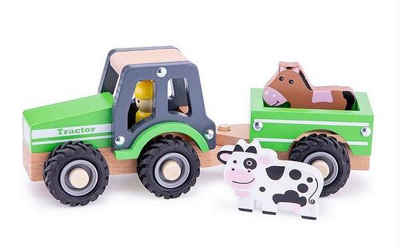 Tracteur avec Remorque - New classic toys