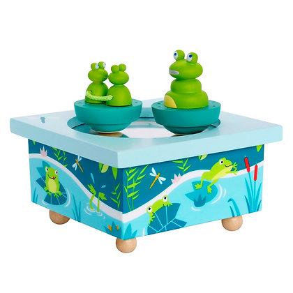 Boîte à musique grenouilles  - Trousselier