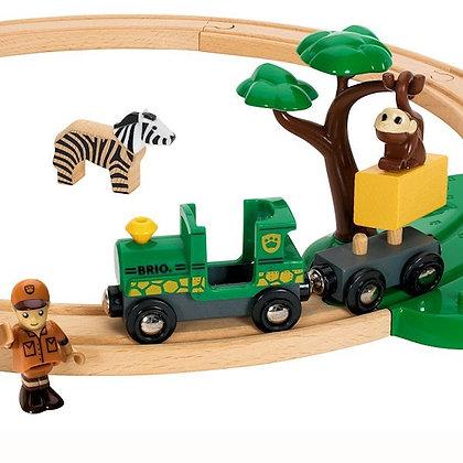 Safari trein set Brio 33720