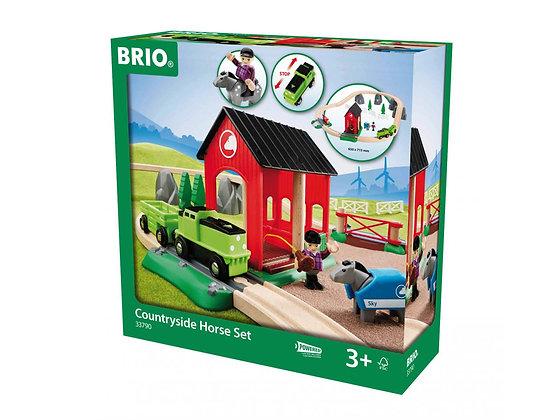 Treinset paarden Brio 33790