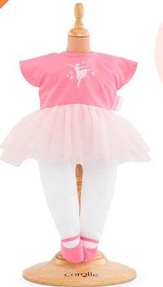 Ballerina outfit voor Corolle pop van 30/36cm
